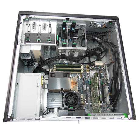 HP Z420 Workstation Intel Xeon E5-1603 @2.80GHz 8GB PC-3 No HDD No OS Thumbnail 3